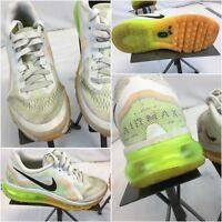 Nike Air Max 360 Sz 6.5 Women White Green Running Shoes Mint YGI E8