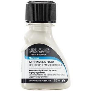 Winsor & Newton Art Masking Fluid for Watercolour Painting 75ml