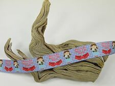 "BTY 1"" Wizard of Oz Dorothy Slippers Grosgrain Ribbon Hair Bows Scrapbook Lisa"