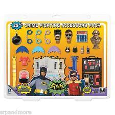 Batman Classic 1966 TV Series 25-Piece Action Figure Crime Fighting Accessories
