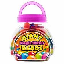 Kids Summer Fun Play Toys Giant Magic Water Beads, Biodegradable, 300 Count