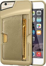 Genuine CM4 iPhone 6 Plus 6S Plus Ultra Slim Q Card Wallet Case Cover - Gold