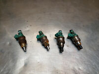 22RET Turbo TOYOTA 4RUNNER PICKUP TRUCK FUEL GAS INJECTORS SET ALL 4 22RTE 22RE