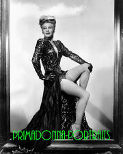"""GINGER ROGERS 8X10 Lab Photo B&W 1944 """"LADY IN THE DARK"""" Sexy Gown Portrait"""