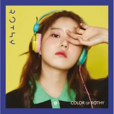 "K-POP ROTHY 2ND MINI ALBUM ""Color Of Rothy"" [ 1 PHOTOBOOK + 1 CD ]"