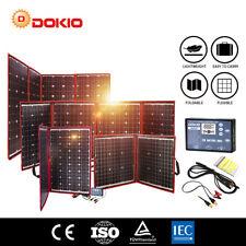 Dokio 100w 200w 300w Foldable Portable Solar Panel for RV/Camping/Car battery