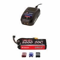 Venom 20C 3S 5000mAh 11.1V LiPo Battery with Sport Charger Combo