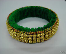 bangle cuff traditional tribal jewelry vintage 22kt gold beads bracelet
