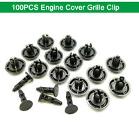 50Pcs*Engine Cover Grille Bumper Retainer Clips For Toyota Lexus 90467-07211