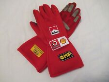 Michael Schumacher Ferrari F1 OMP race gloves Monaco GP 2006 replica >VERY RARE<