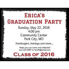 20 Graduation Party Invitations - High School Graduation - College Graduation