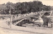 PUTEAUX 28 le pont panorama écrite 1915