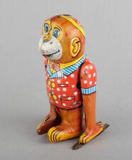 Yanoman Toy (Japan) Tinplate Clockwork/Wind-Up Acrobat Monkey