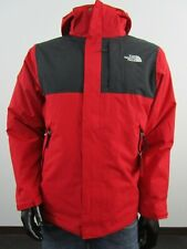 NWT Mens TNF The North Face Lonepeak Tri 3 in 1 Hooded Waterproof Jacket - Red