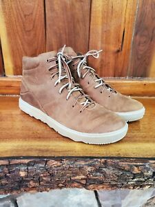 Merrell Women's Brown Sugar Mid Lace Up Leather Shoes. Size 10.