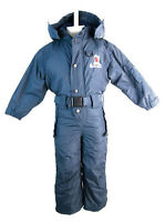 Trespass Kids Twirl One Piece Snow Ski Suit (Navy) - Size 4 (3-4 Years)
