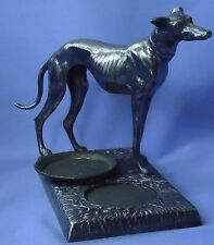 "1930 SILVER WHIPPET ITALIAN GREYHOUND DOG K&O 7"""