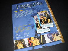 FUSHIGI YUGI A Fan Favorite.... Vintage ANIME Promo Ad mint condition