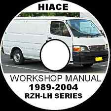 TOYOTA HIACE 1989-2004 RZH-LH Workshop Repair Manual PETROL/DIESEL 2L 3L 5L