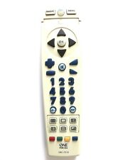 ONE FOR ALL UNIVERSAL TV REMOTE CONTROL URC-7210