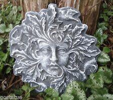 Green lady mold plaster concrete garden face casting garden face mould