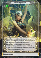 Magic FOIL Proxy Full Art Custom Doubling Season