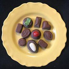 Marseille ancienne faïencerie Figuères Trompe l'oeil assiette chocolat