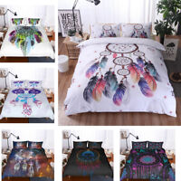 3D Personality Dreamcatcher Quilt Cover Bedding Set Pillow Case Comforter Cover