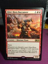 MTG Magic Card Rare Glint-Horn Buccaneer M20 - Core Set 2020 #141  Mint 💎✔🔎