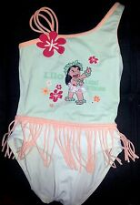 Lilo and Stitch Bathing Suit Kids Girls size 6 Beach Beach Aloha Disney Gift *