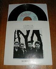"""U2 Orig 1984 """"Pride (In The Name Of Love)"""" 45 & PS NM UNPLAYED"""