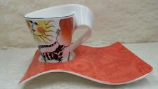 villeroy and boch new wave mug and party plate