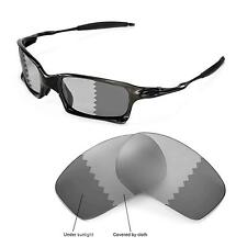 New Walleva Polarized Transition/Photochromic Lenses For Oakley X-Squared