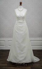 Lace A-line Unbranded Strapless Wedding Dresses