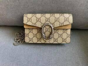 Gucci Dionysus GG Supreme super mini bag/ Crossbody