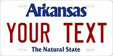 Arkansas 1998 License Plates Tag Personalized Auto Car Custom VEHICLE OR MOPED