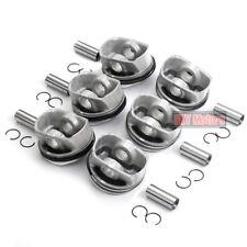 STD 6x Pistons & Rings Set Φ84.5mm MAHLE For Audi A6 A7 A8 2.8 V6 FSI CCDA CVPA