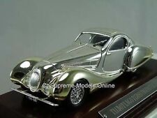TALBOT LAGO T150SS FIGONI SPORTS CAR 1/43 PLATED FINISH PACKAGED ISSUE K8967Q/=/