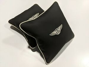 Bentley Continental, GTC, GT, Flying Spur, Mulsanne, Bentauga Interior Pillows