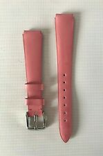 TECHNOMARINE 2021 Pink Leather Replacement Watch Strap / Band / Bracelet - 13 mm