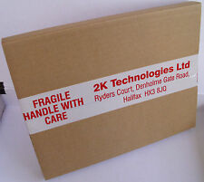 Mailing Boxes -150 x 235mm x 190mm x 24mm Single Wall Brown Card - Free T48 Post