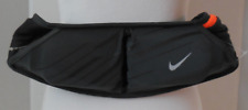 Nike Unisex Double Pocket flash belt 20oz. Anthracite/Black/Silver Size Osfm New