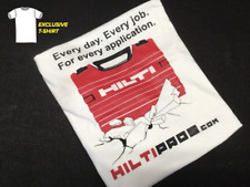 HILTI T-SHIRT ((SIZE XL)) (SHORT SLEEVE), BRAND NEW, GREAT STYLE, FAST SHIP