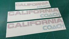 VW T3 T4 T5 California Coach Bus Camper van Decals Stickers any colours