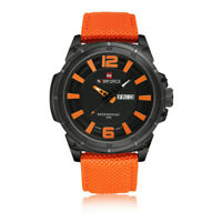 NAVIFORCE Men's Sports Military Watch Quartz Day Date Quartz Wrist Watches