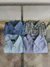 Lot of 4 Button Up Men's Shirts Size Large.....LOOK!!!!