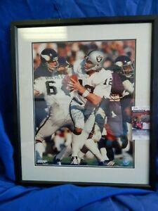 Ken Stabler Signed / Autographed 16 X 20 Photo JSA Framed