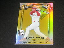 SCOTT ROLEN STAR IAUTHENTIC PACK PULLED BASEBALL CARD LIMITED EDITION /1000 RARE