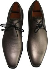 CORTHAY ARCA PULLMAN GRAY MEN'S SHOES- SIZE 10- MADE IN FRANCE