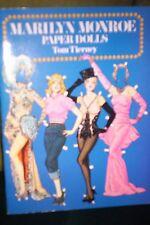 "PAPER DOLLS MOVIE STARS ""MARILYN MONROE""  TOM TIERNEY  31 COSTUMES 1979  INTRO"